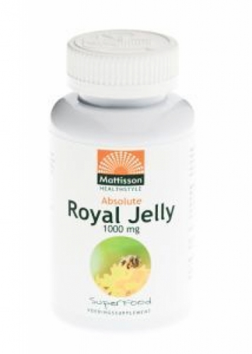 Absolute Royal Jelly Mattisson 1000mg 20caps