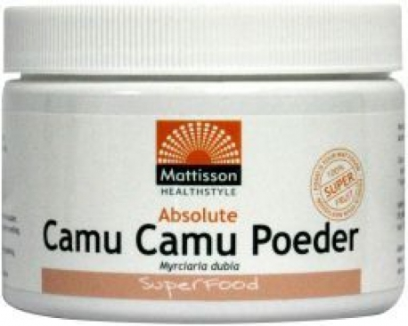 Absolute camu camu poeder extract 120g Mattisson