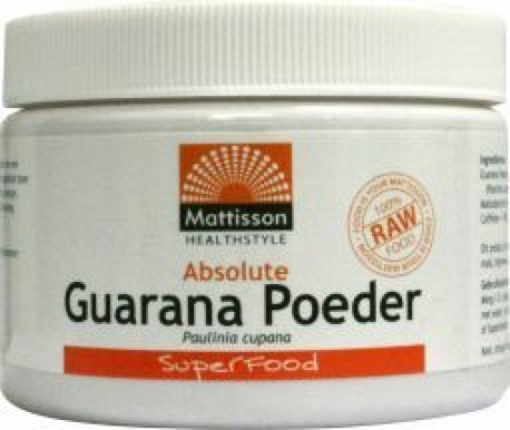 Absolute Guarana Poeder Extract Mattisson 125gr
