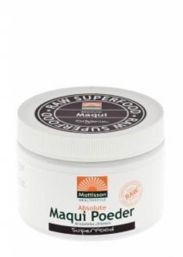 Absolute Maqui Powder Raw Mattisson Organic 125gr