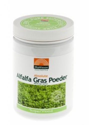Absolute Organic alfalfa powder 250g Mattisson