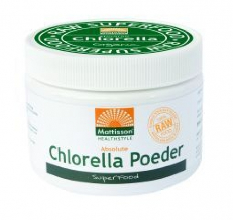 Absolute Organic chlorella powder 125gram Mattisson
