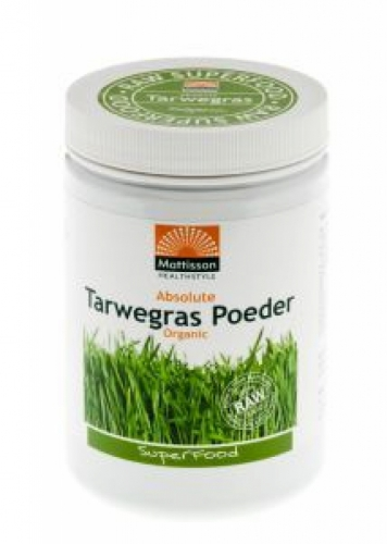 Absolute Organic Wheatgrass Powder New Zealand Mattisson 300gr