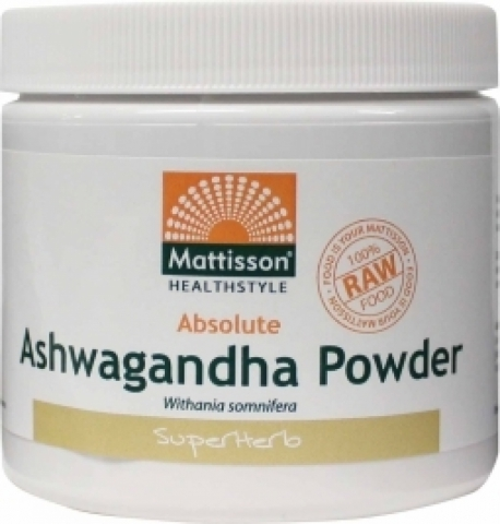 Absolute ashwagandha Pulver 200g Mattisson