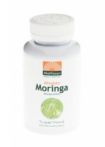 Absolute Moringa Feuille 400mg Mattisson 60vc