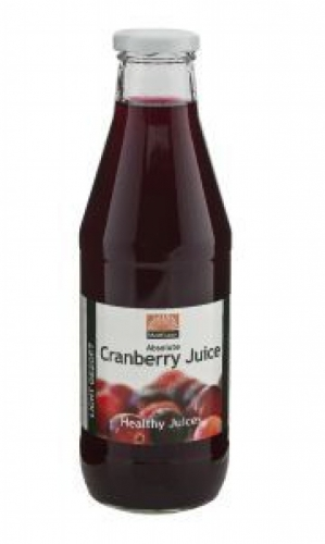 Absolute sweetened cranberry juice 750ml Mattisson