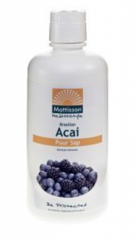 Acai Juice Pure Organic Mattisson 1000ml