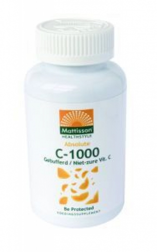 Absolute C-1000 Gebufferd Bioflavonoiden Mattisson 90caps