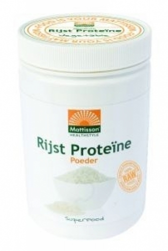 Protein Absolute riz naturel Bio Mattisson 500gr
