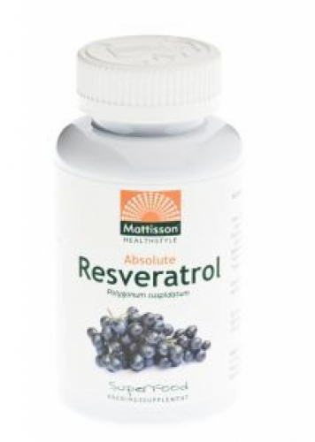 Absolute Resveratrol 350mg Mattisson 60vc