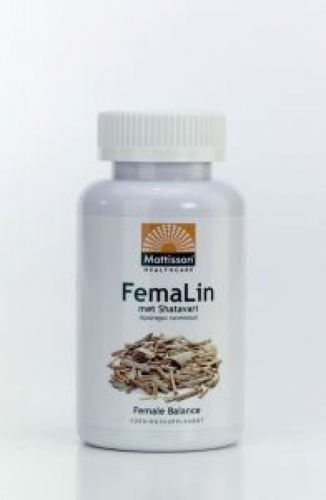 Femalin shatavari 450mg 120 tabetten Mattisson