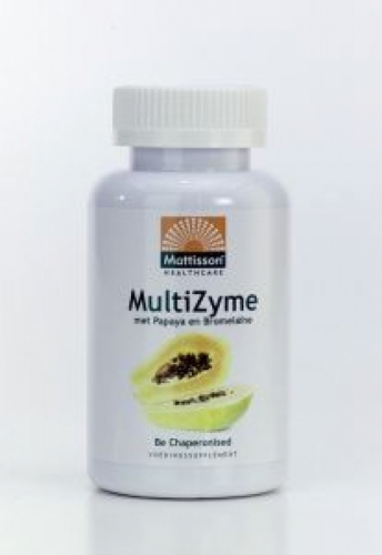 Multizyme Enzymkomplex 90cap Mattisson