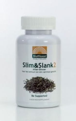 Slim & slank 2 after dinner pu-erh 120cap Mattisson