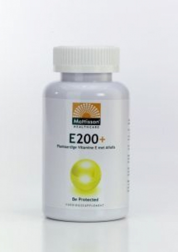 Vitamin E 200 + 120cap Mattisson