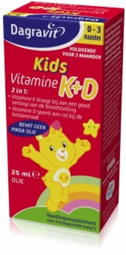 Vitamin K + D drops 25ml Dagravit