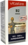 Vitamine B12 energie 100 tabletten Vitalize