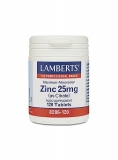 Zink citraat 25mg 120 tabletten Lamberts