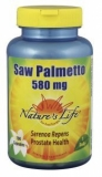Saw palmetto 580mg 100cap Natures Life